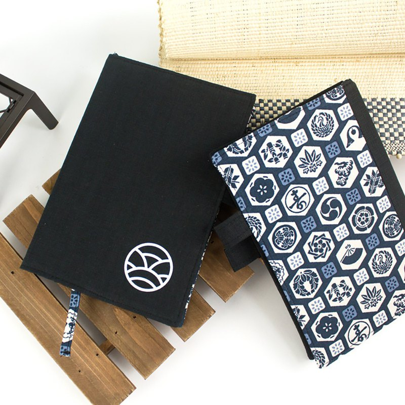 B6/32K Self-filling Zhou Zhi (straight type) / week plan / PDA / flower cloth (for pens) - Japanese style