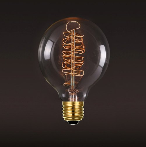 Good Form‧ Good Shape │ Vintage ‧ Tungsten Bulb ‧ Small Bubble (B) Bulb