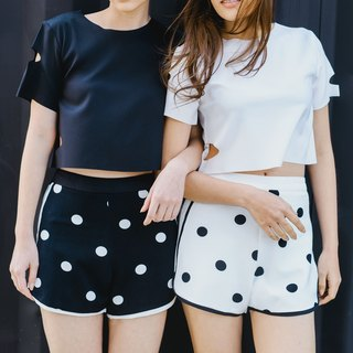 Chic Polka dot Shorts