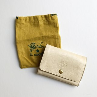 A ROOM MODEL - VINTAGE - IL BISONTE Beige wallet / BD-0722
