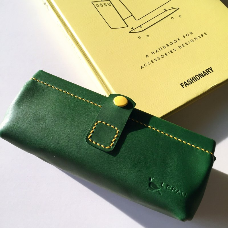 COLORFUL LEATHER BOX【GREEN】