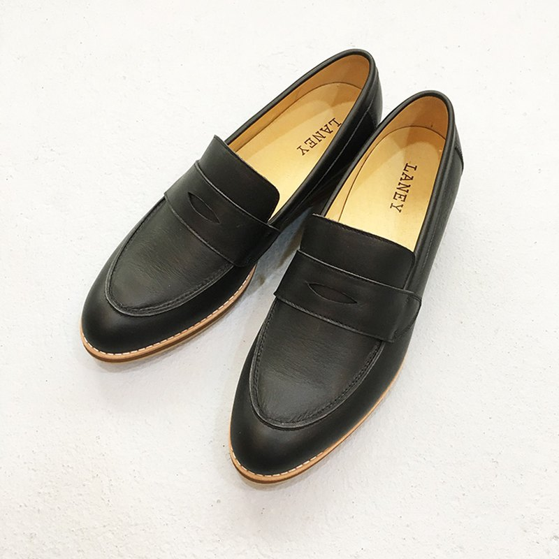 LANNY LANEY / black loafers_Male