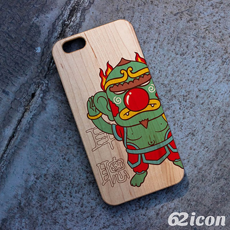 BO2-耳聪-Wood phone case