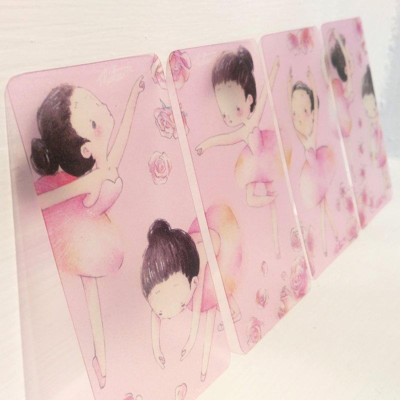 {139} ballet girl, paper tape dispensing sheet // 4 //