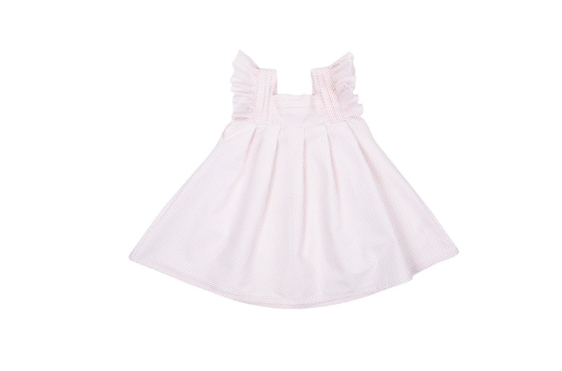 ROLY PONY white dot dress