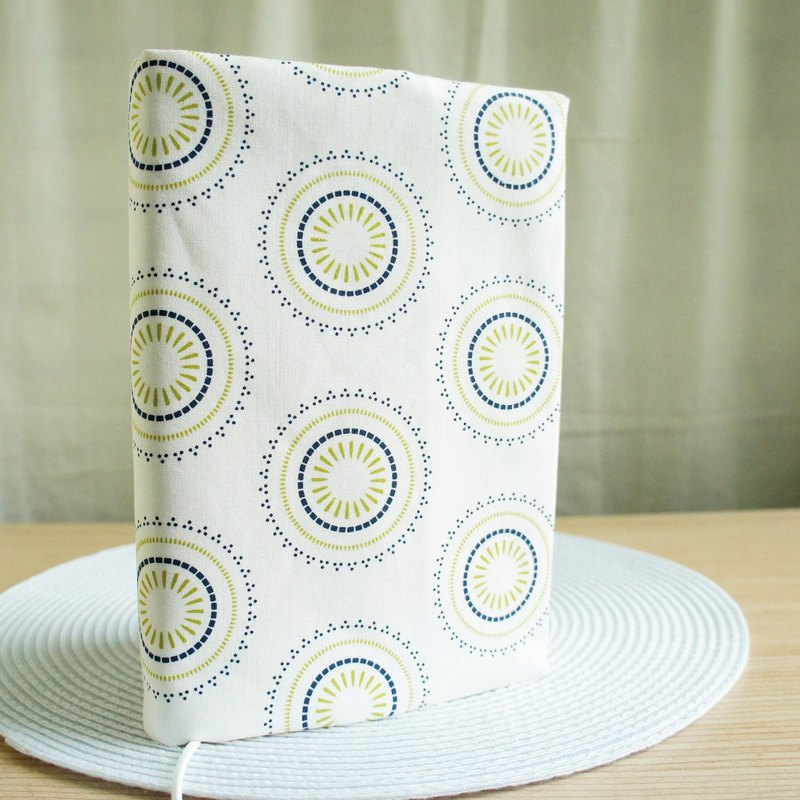Lovely American cotton [double-sided cloth book design sense circle circle] cloth book cover 15X21cm, A5 hand account