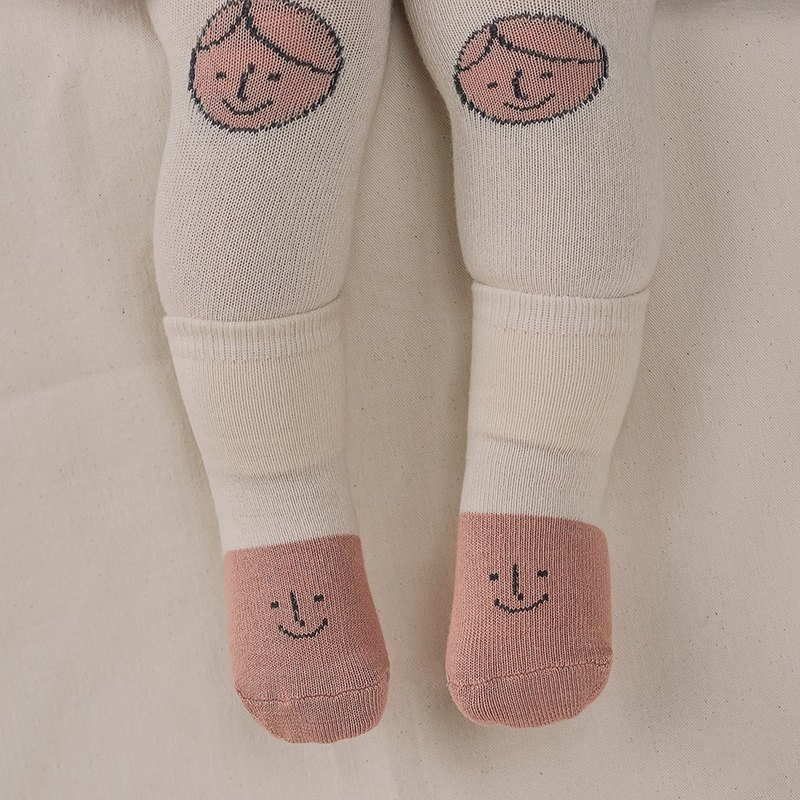 Happy Prince Korean-made Friends Baby Warming Pantyhose Sock Set
