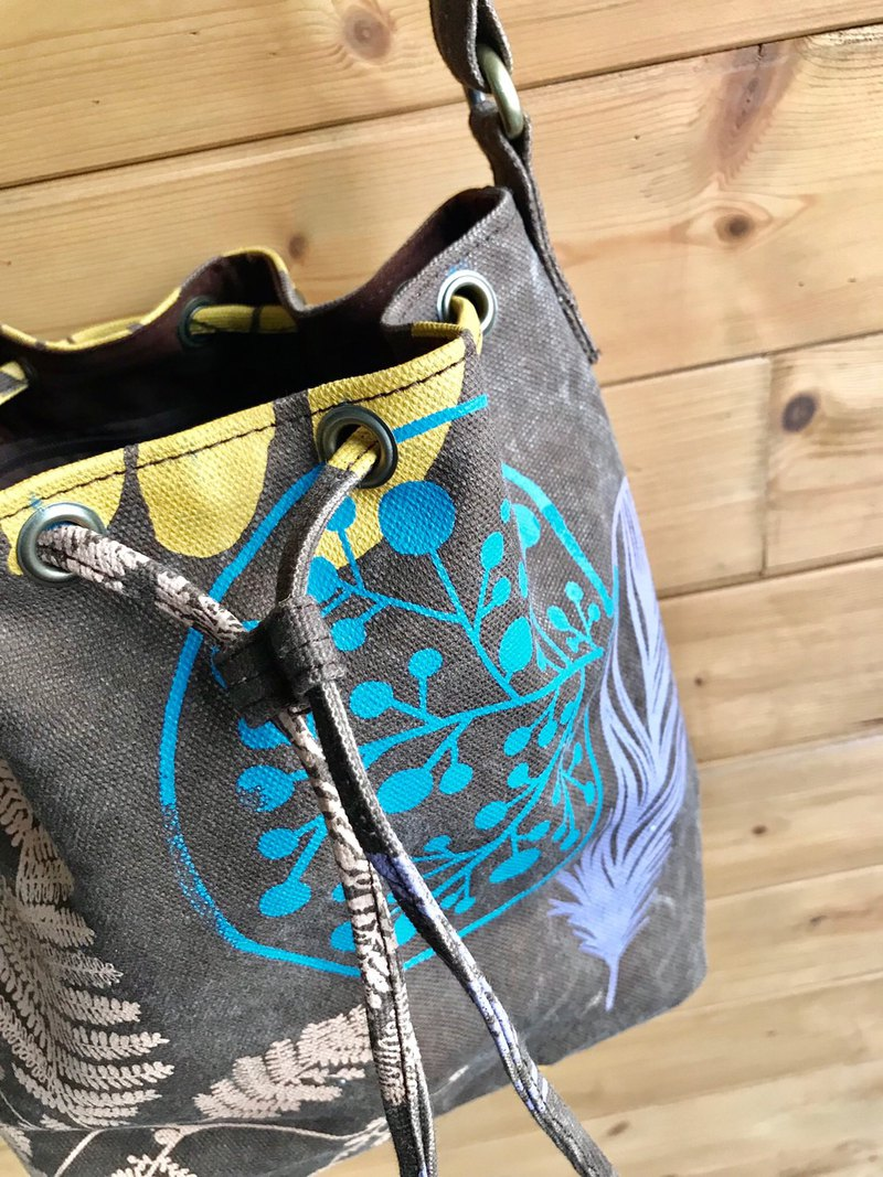 Screen Printing Bucket Bag