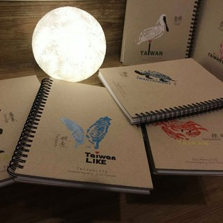 Taiwan pictographic classic works Fu bag notebook set