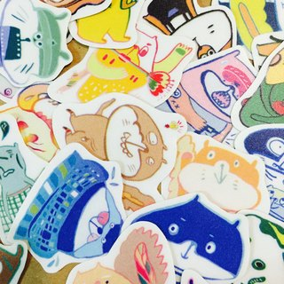 Sticker stickers / 30 groups