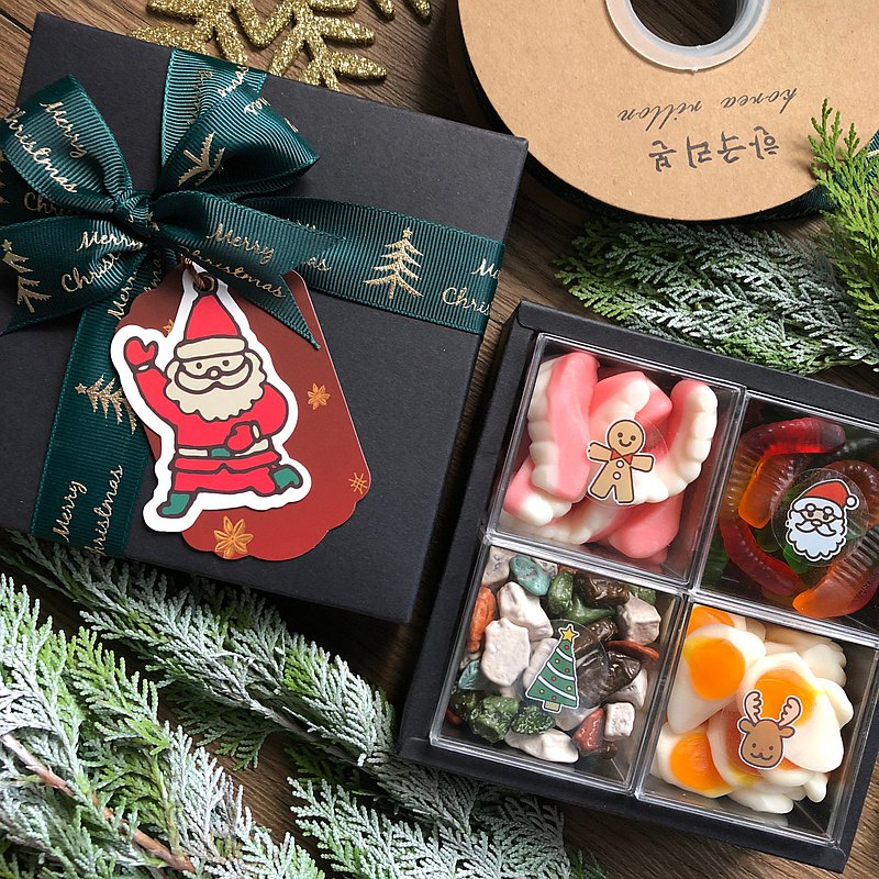 Exchanging gifts Christmas gifts handmade jam (evil Santa Claus) Free shipping within a limited time
