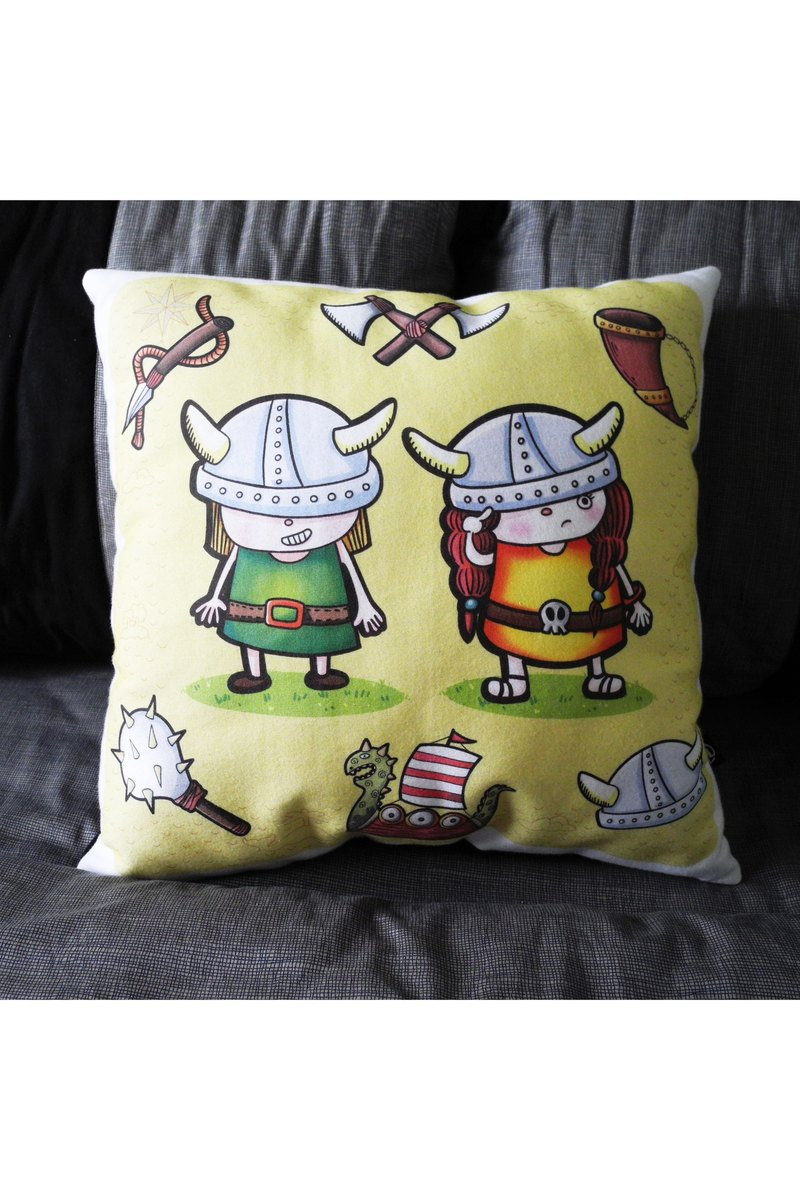 statelywork Vikings pillow - child