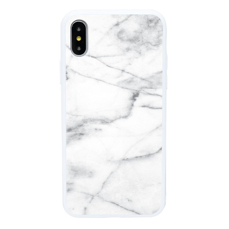 Jazz Gray Marble iPhone 6 7 8 Plus X XS XR XSmax Mobile Shell