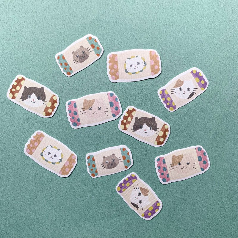 Stickers | Candy cats sticker set