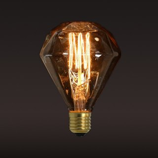 Good Form‧ Good Shape Edison ‧ Tungsten Light Bulb Diamonds (A) Bulb
