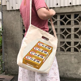 <Self-sale> 2018 super heavy weight, high pounds canvas canvas bag ~ chewing gum