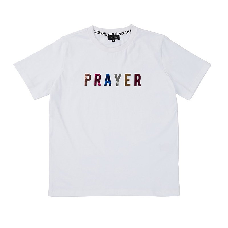 ROYROY SEOUL Prayer T-shirt