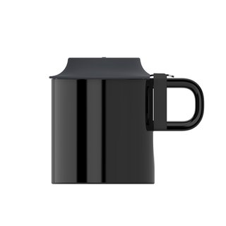 stirring mug - black