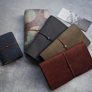 TN travel notebook standard color original Italian vegetable tanned leather handmade leather design customized