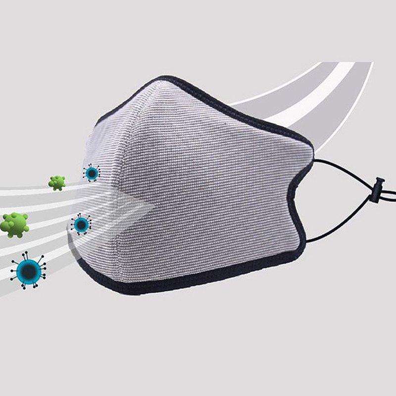 台灣製造MIT 3D銅鋅離子抗菌布口罩 NAF官方直營