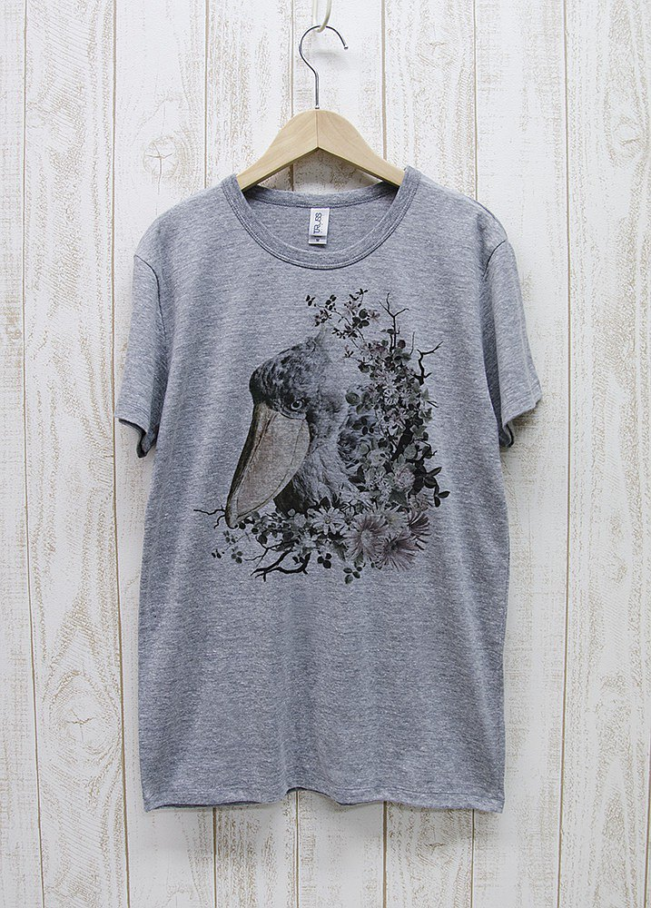 ronronHUSHBILL Tee Calld? Heather Gray / R036-TT-GR