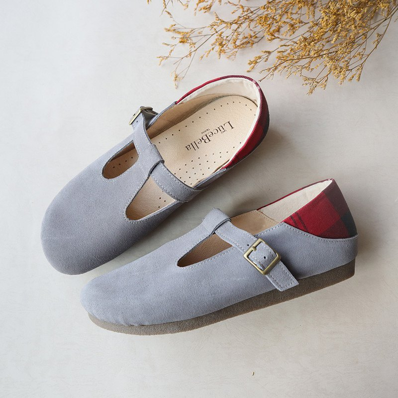 [Wool candy] waterproof bread shoes - gray