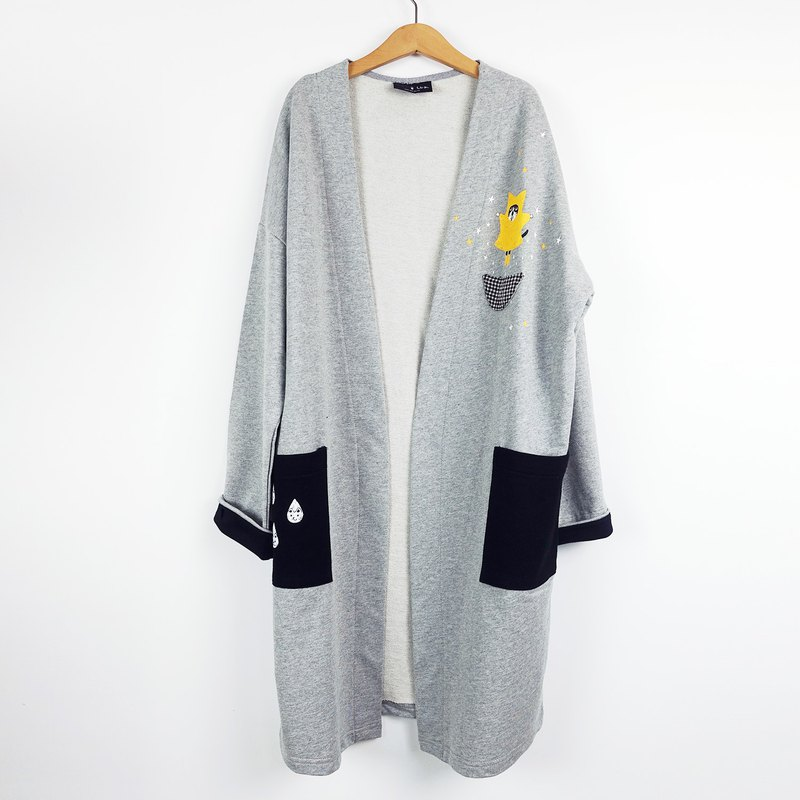 Urb / Star Cat / Cotton Long Jacket