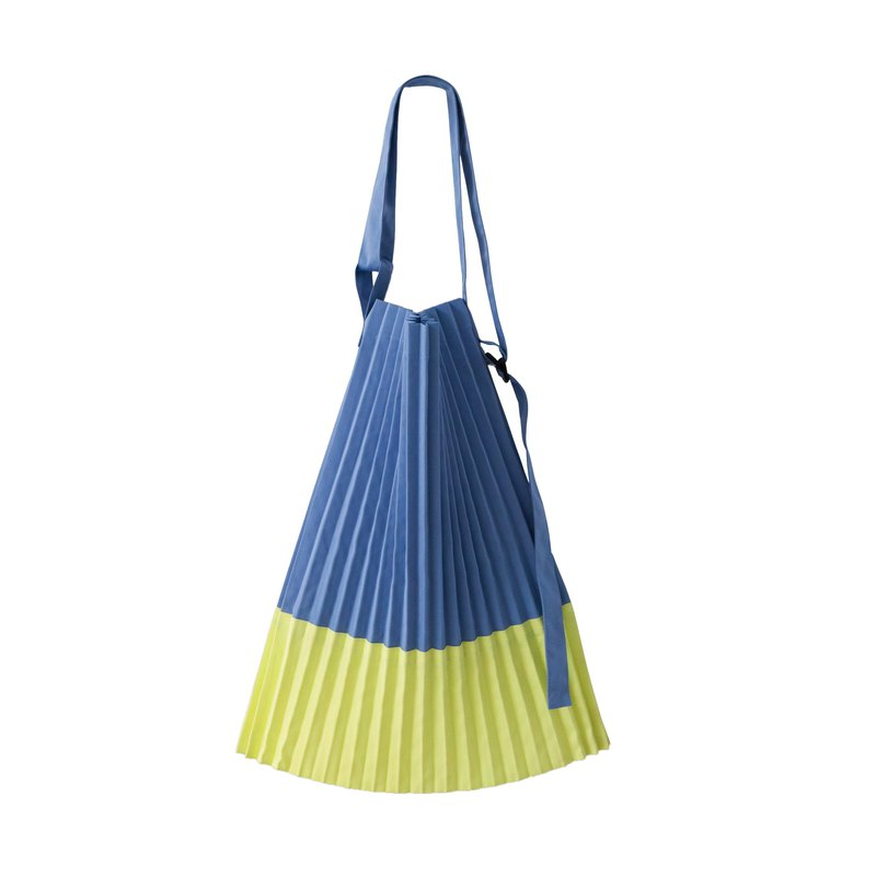 Errorism * Pleated colour blocking 2 ways bag