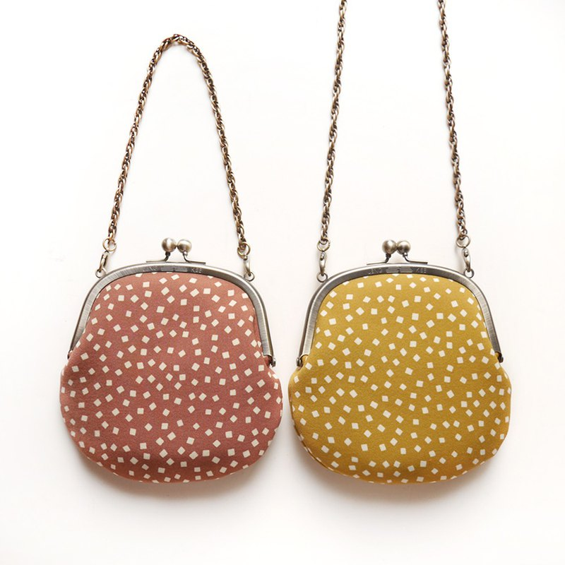 Curry Rice Rice Cute Necklace Bag / Clutch Bag / Shoulder Bag [Made in Taiwan]