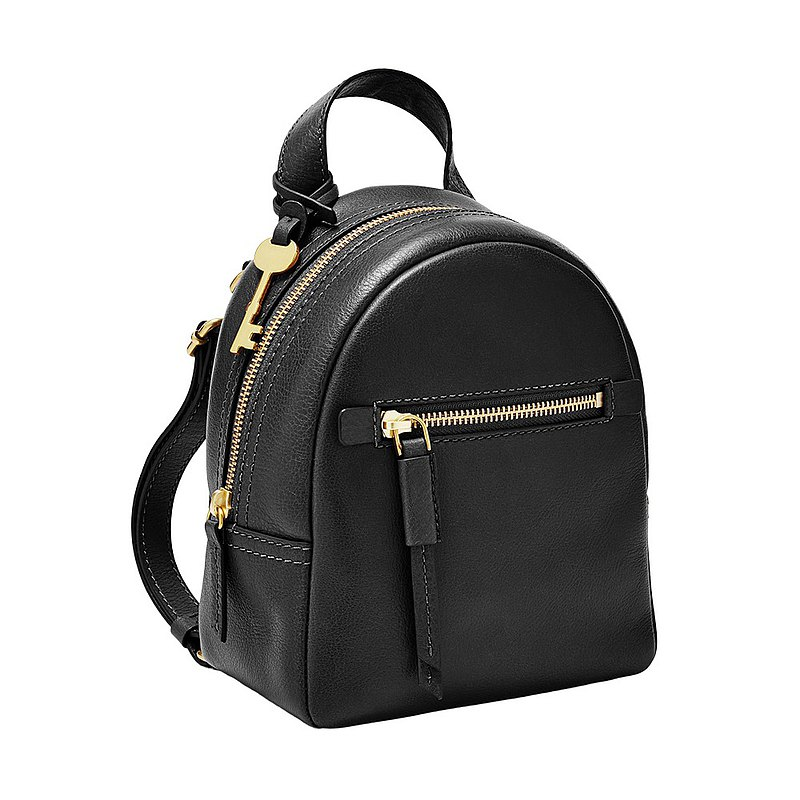 FOSSIL Megan Super Mini Backpack in Black Leather ZB7916001