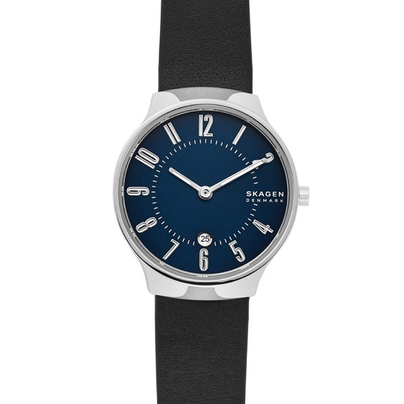 Grenen Nordic Simple and Clean Blue Sand Date 28mm Female SKW2807