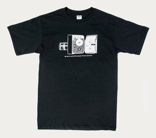 T-Shirt :Vintage Camera Bell & Howell Model 414 Director Series(Black/Gray Colors)