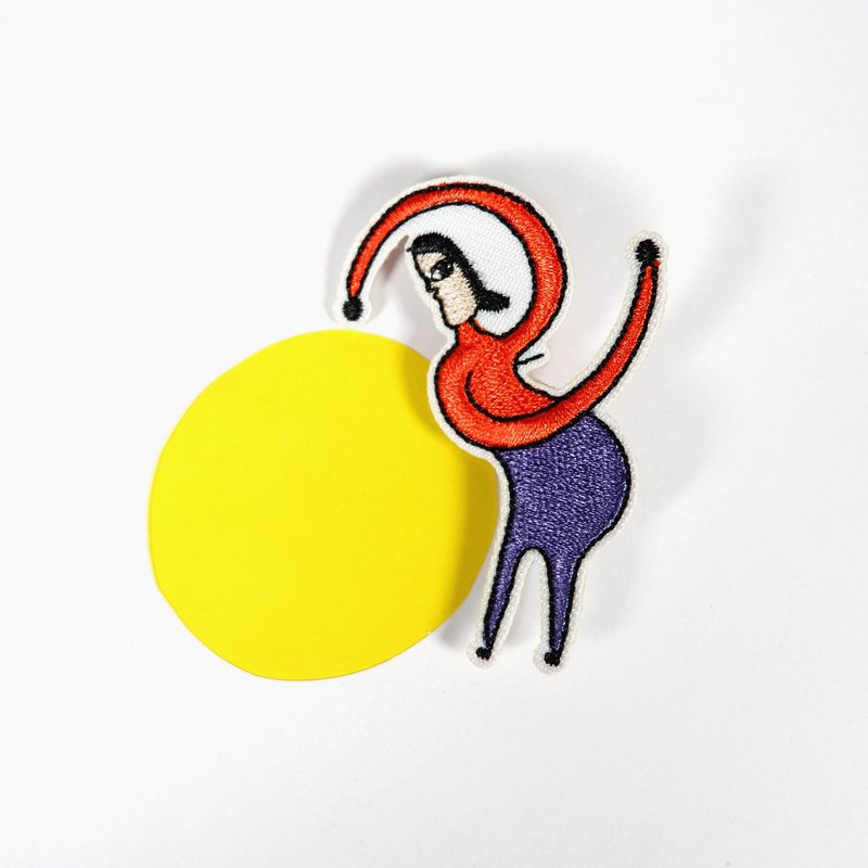 Morning Morning 3 - Embroidery Badge / Pin