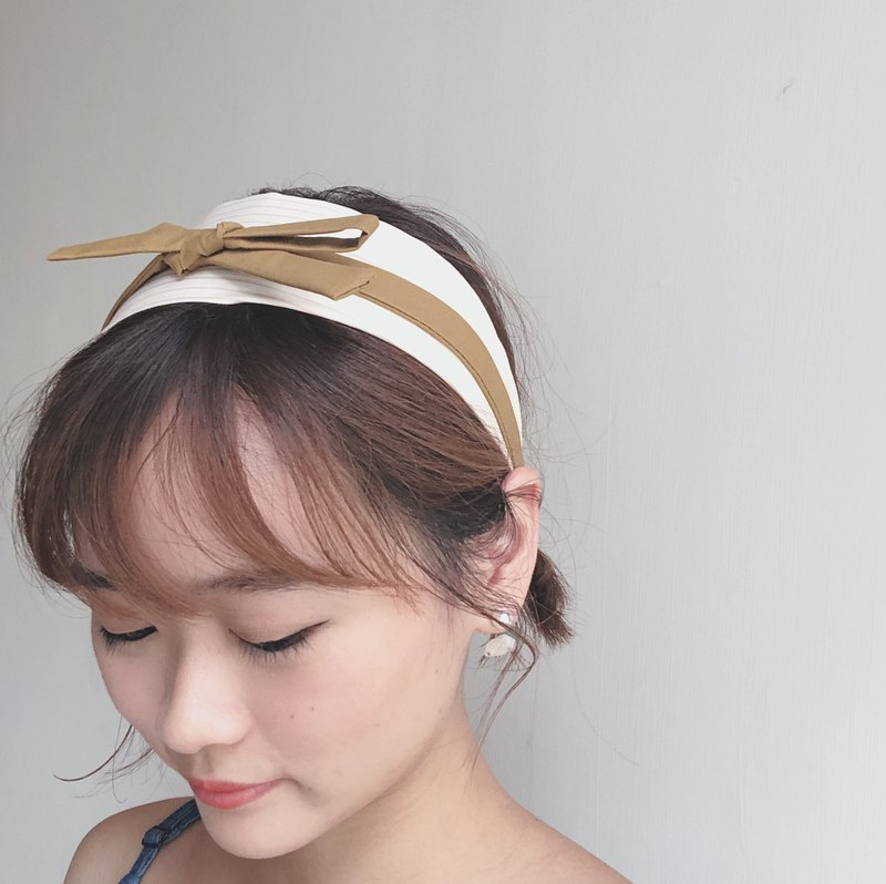 Vanilla ice cream Elastic hair band