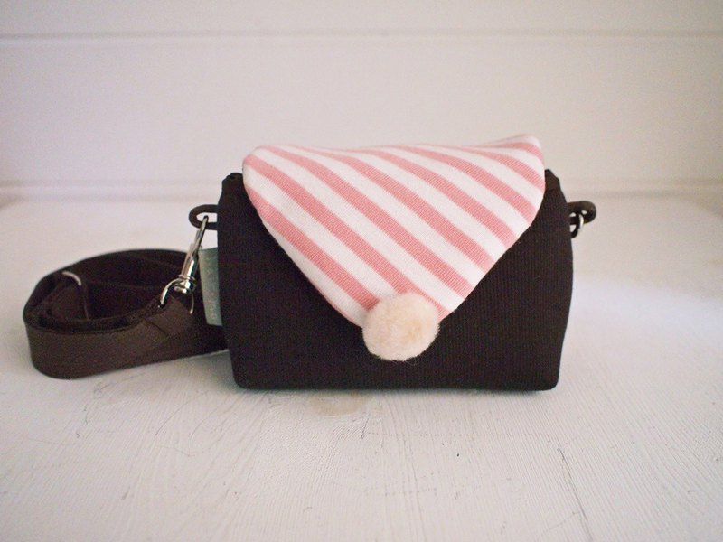 Triangle Envelope Side Back Zip Camera Bag - Coffee + Vermicelli (Spot)