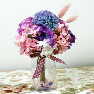 Mother's Day Limited - Dream Pink Violet Mini Bouquet