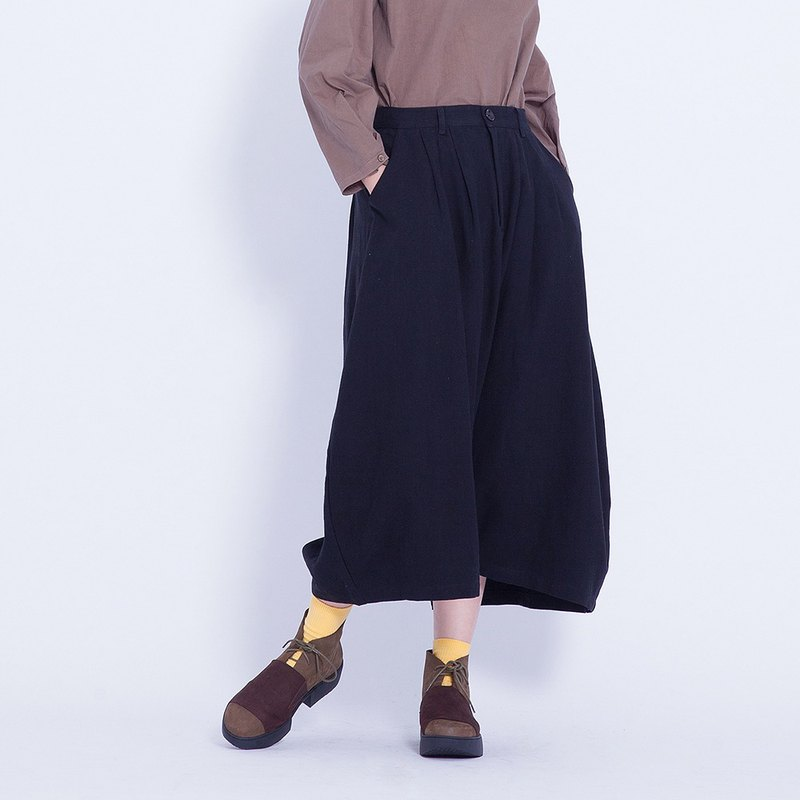 Corsage Italian _ ease staggered pants Taiwan Design