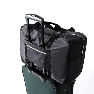 Luggage trolley admission package. black