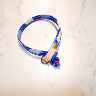 Cat Collars POP style, blue_CCJ090410