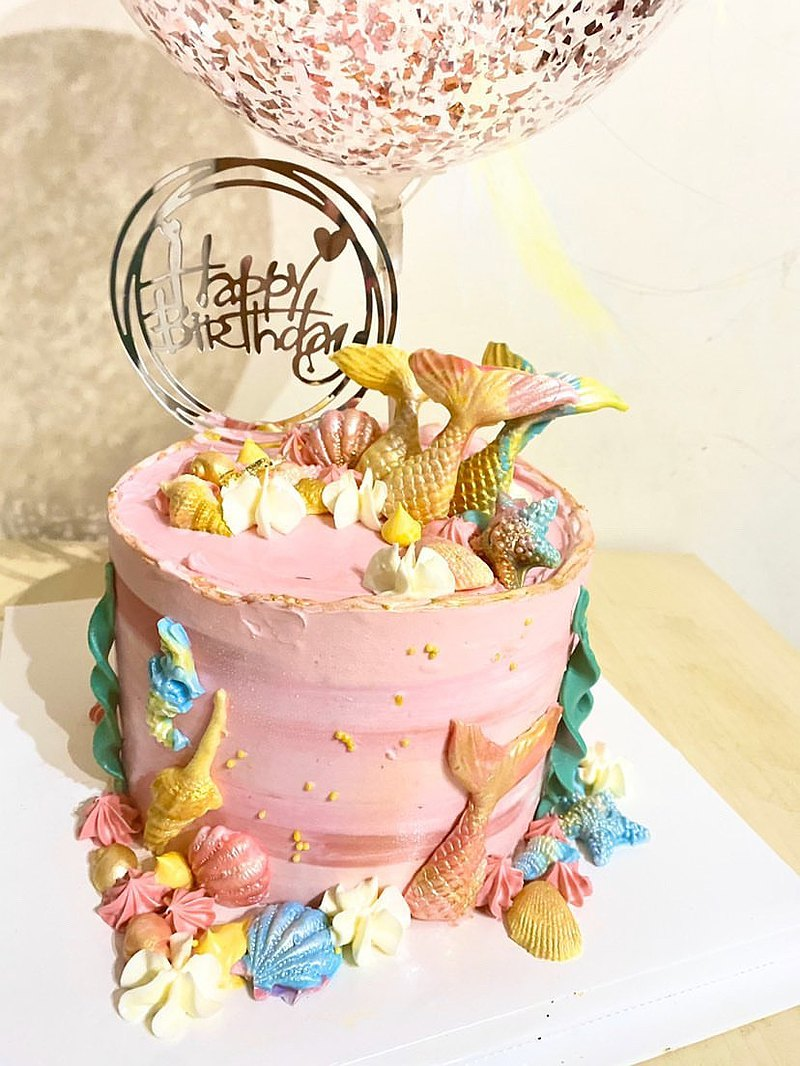 【客製化蛋糕】人魚公主蛋糕