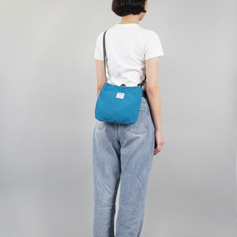 hellolulu Eilish 小型側背包 - 水手藍