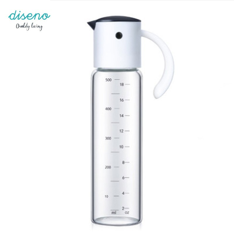 diseno Oil & Vinegar Dispenser 500ML - White
