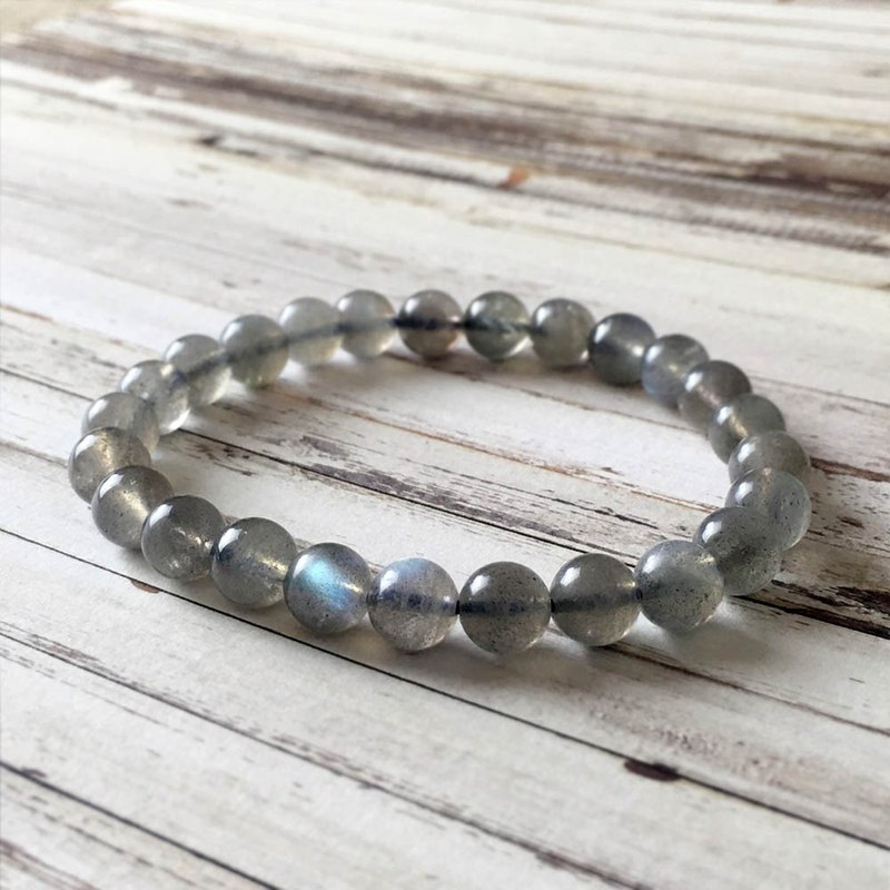 | Classic Collection | Grey Moonstone (Bracelet x Bracelet x Handmade x Customized.)