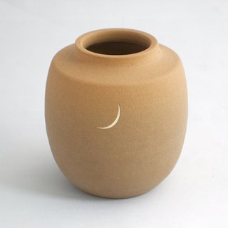 Sunset small vase Japanese pottery pottery