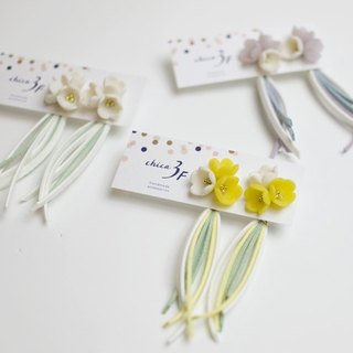 Bouquet tassel earrings / earrings