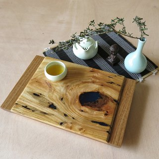 HO MOOD Deconstruction Series - Handmade geometric tea tray