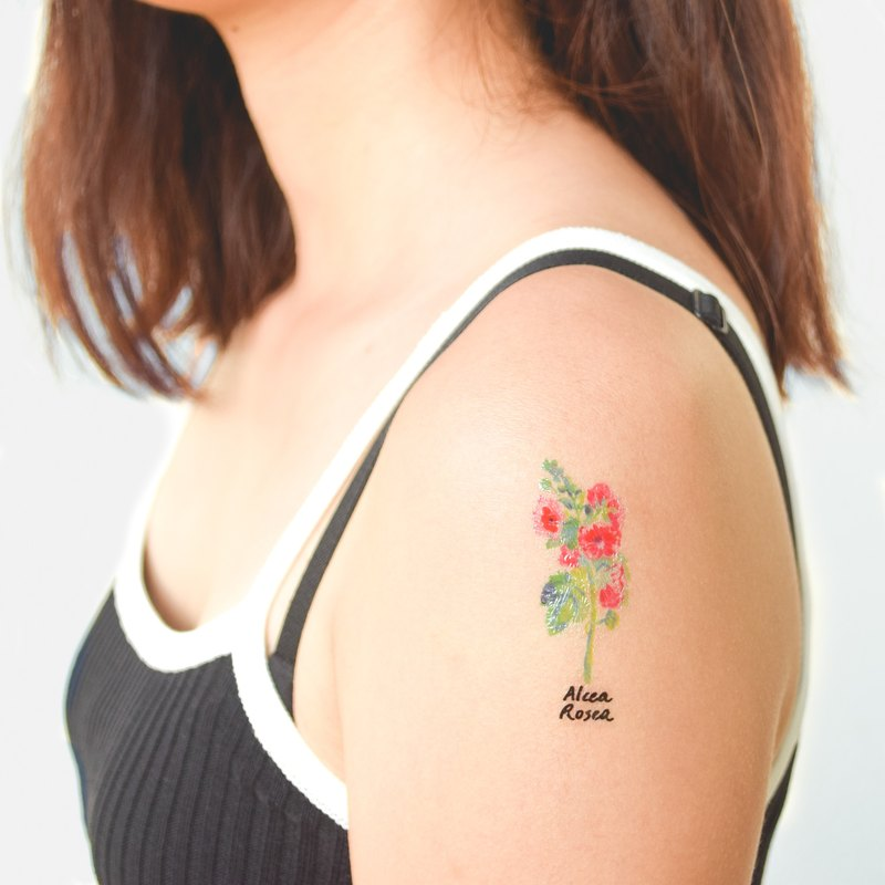 Honeysuckle temporary tattoo buy 3 get 1 Floral tattoo party wedding decoration