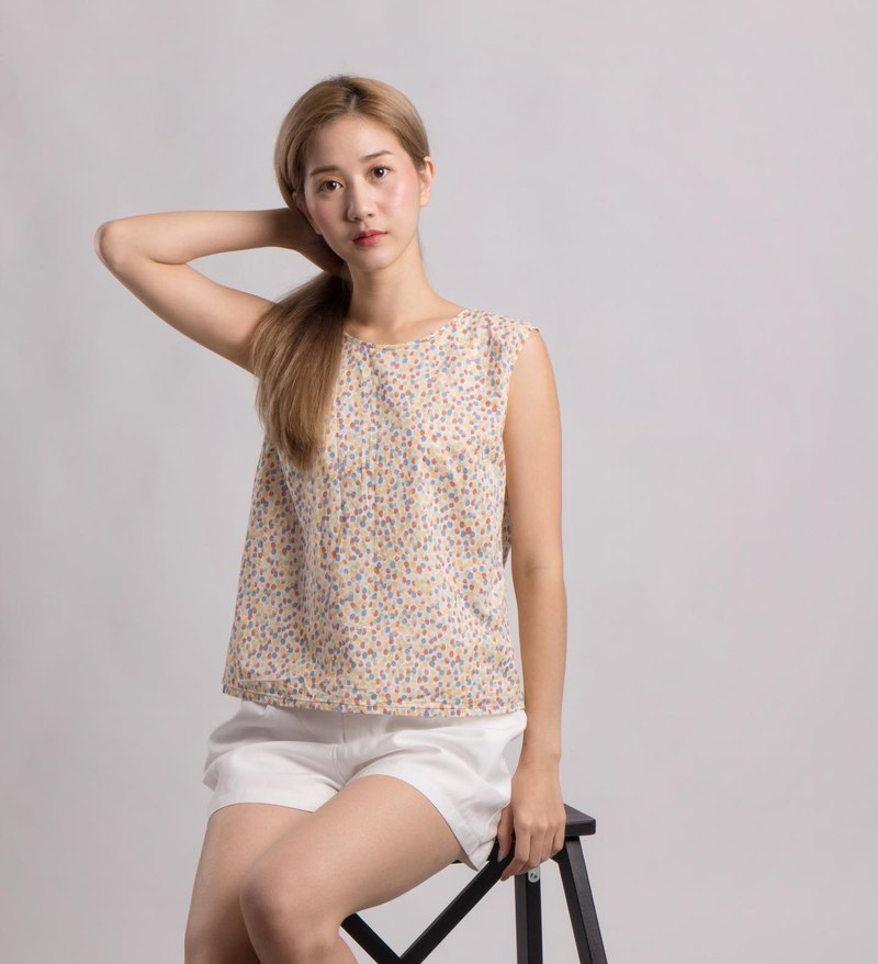polka candy top