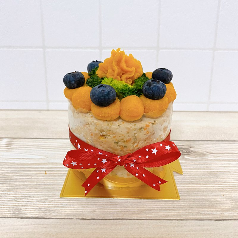 Fresh food for dogs and cats--pre-order blueberry sweet potato birthday cake (made with pure meat)