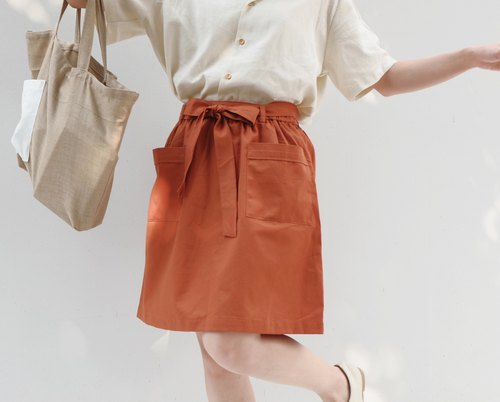 Butter B. Skirt - ThaiTea color